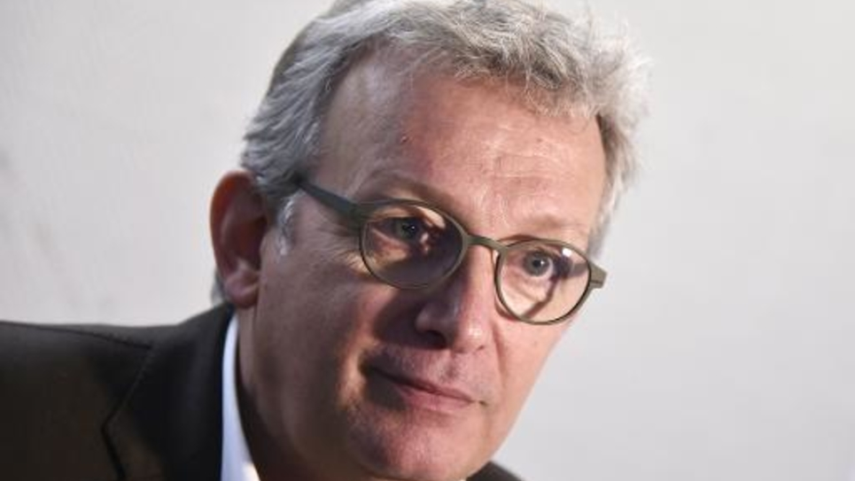 Pierre Laurent, secrétaire national du Parti communiste (PCF) le 26 mars 2015 à Bondy