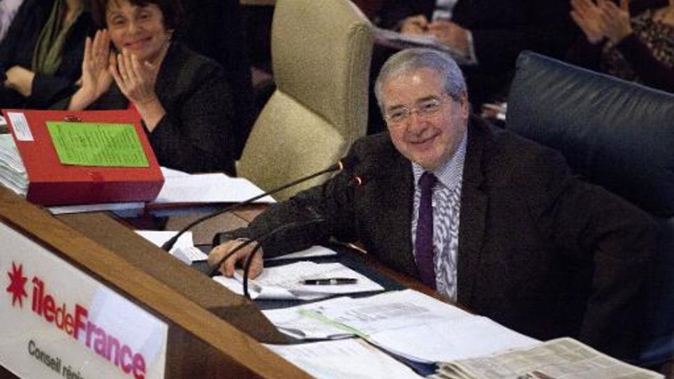 Jean-Paul Huchon, président de la région Ile-de-France, le 20 décembre 2012 à Paris