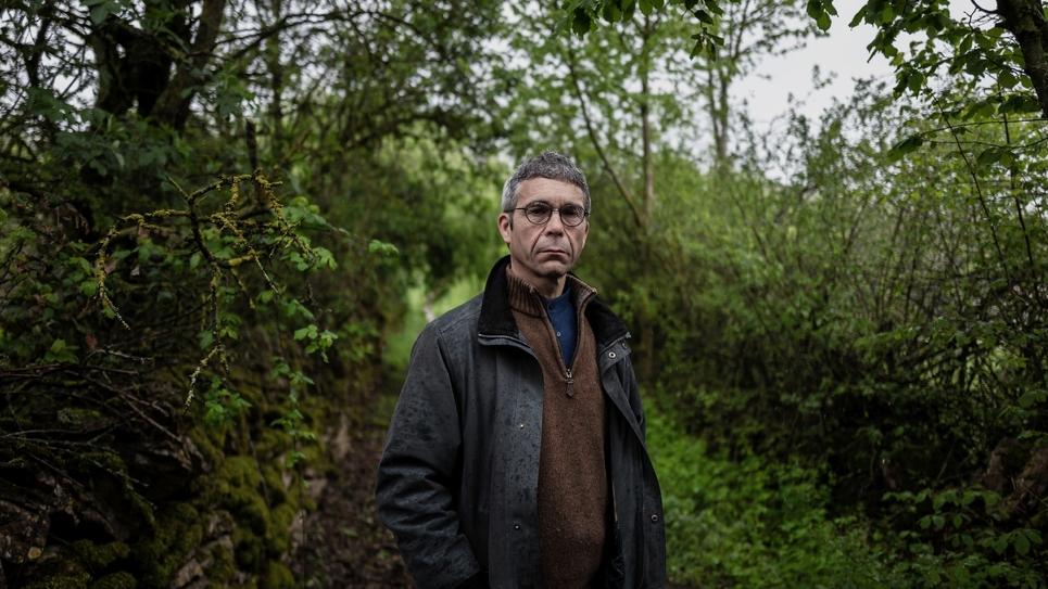 Jean-Luc Delpeuch, président démissionnaire de la communauté de communes de la petite région d'élevage du Clunisois, le 2 mai 2019 à Cluny