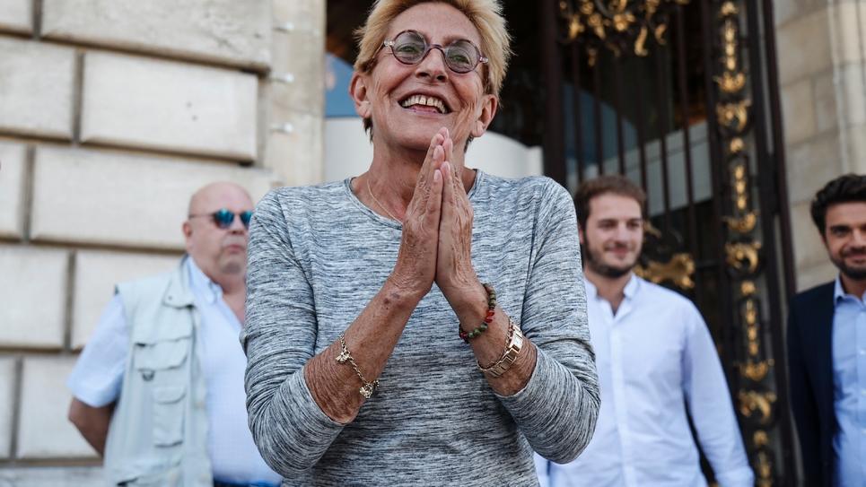 Isabelle Balkany, le 14 septembre 2019 à Levallois-Perret