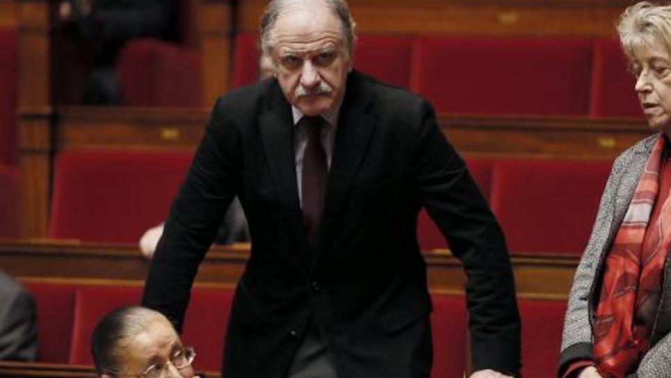 Le député écologiste Noël Mamère, le 17 décembre 2014 à l'Assemblée nationale à Paris