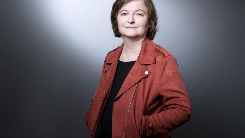 La tête de liste LREM aux élections européennes, Nathalie Loiseau, le 25 mars 2019 à Paris