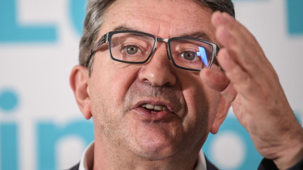 Jean-Luc Mélenchon, le 19 octobre 2018
