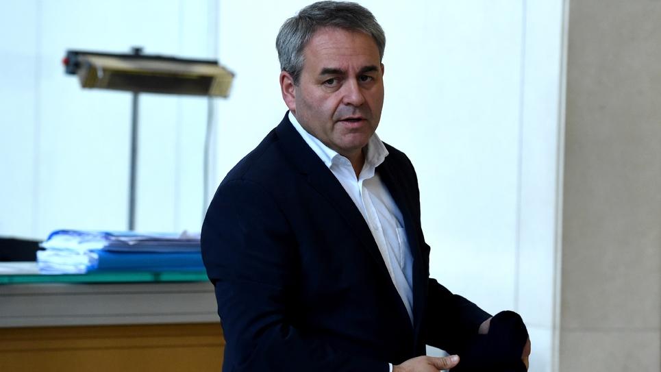 Xavier Bertrand, le président de la région Hauts-de-France, à Paris le 31 octobre 2018