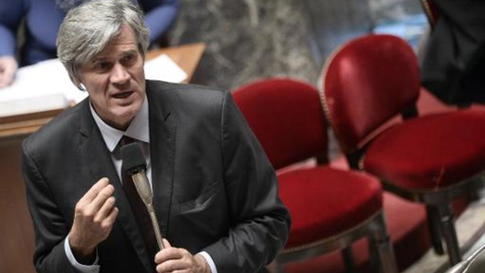Stéphane Le Foll à l'Assemblée nationale le 8 octobre 2014 à Paris