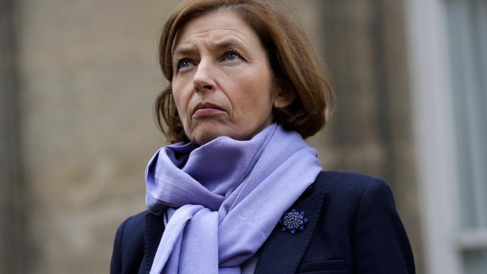 La ministre des Armées Florence Parly le 10 novembre 2017 à Paris