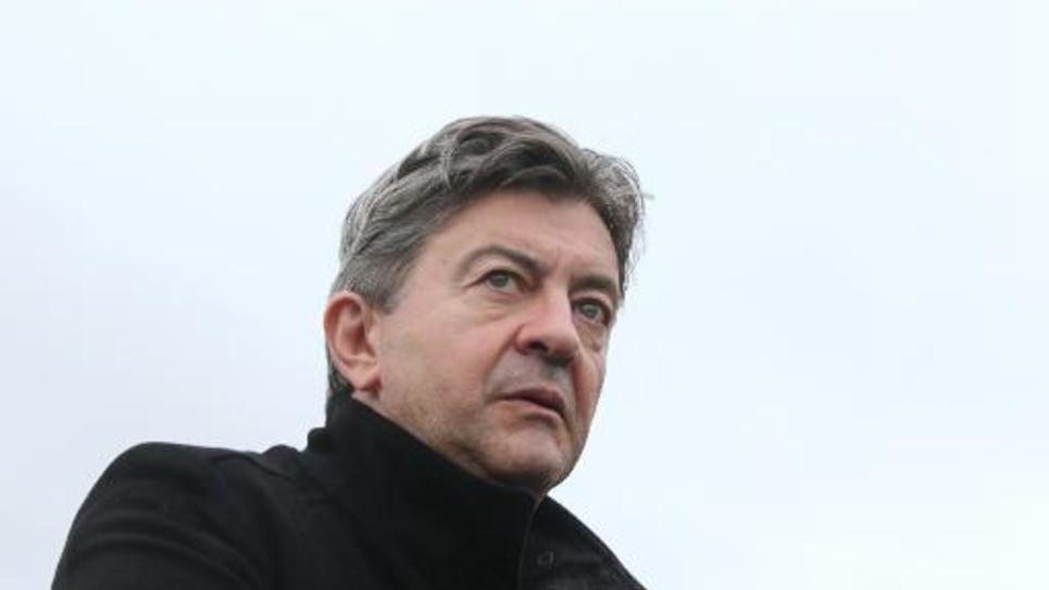 Le coprésident du Parti de gauche Jean-Luc Mélenchon, le 13 novembre 2013 à Pau