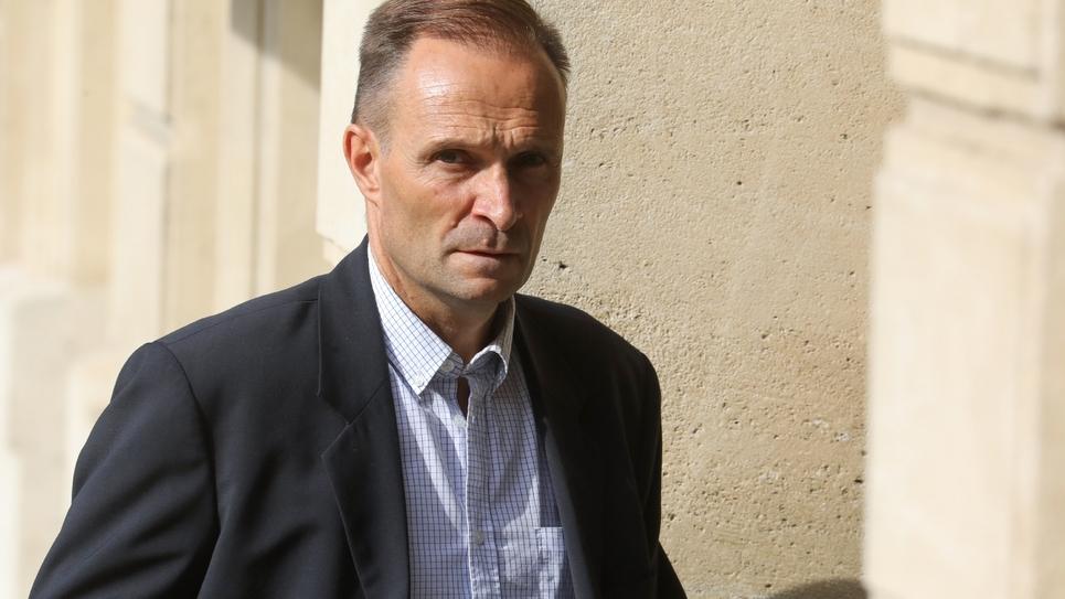 Benoît Ferrand le 10 juillet 2019 à l'Elysée