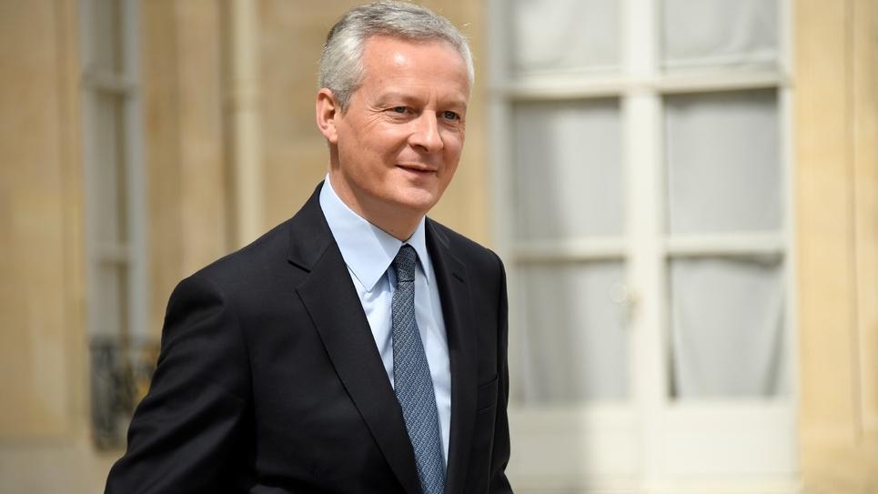 Bruno Le Maire, ministre de l'Economie, le 11 juillet 2018 à l'Elysée