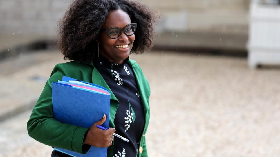 La porte-parole du gouvernement Sibeth Ndiaye, le 12 juin 2019 à Paris