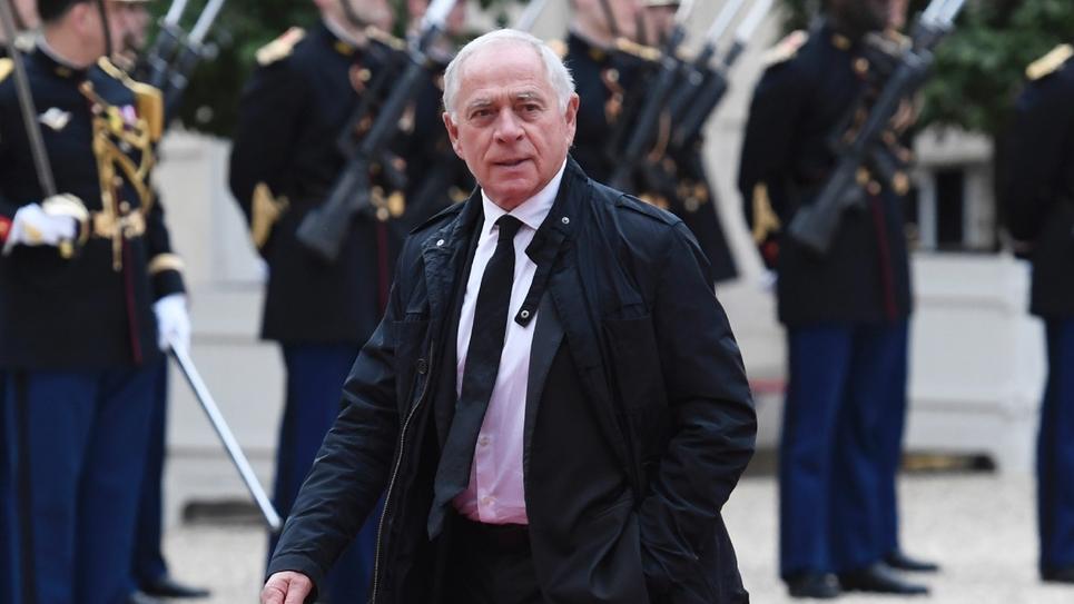 Le sénateur François Patriat, le 14 mai 2017 au palais de l'Élysée, à Paris