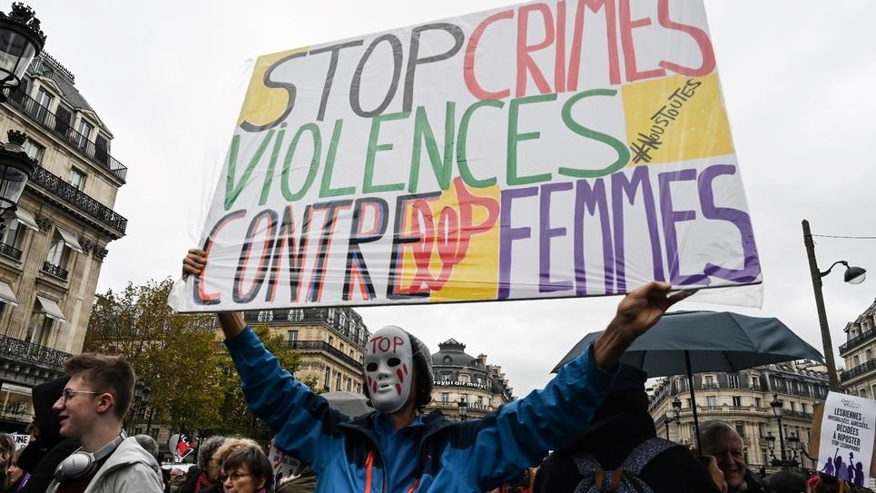 Manifestation contre les féminicides, le 23 novembre 2019 à Paris
