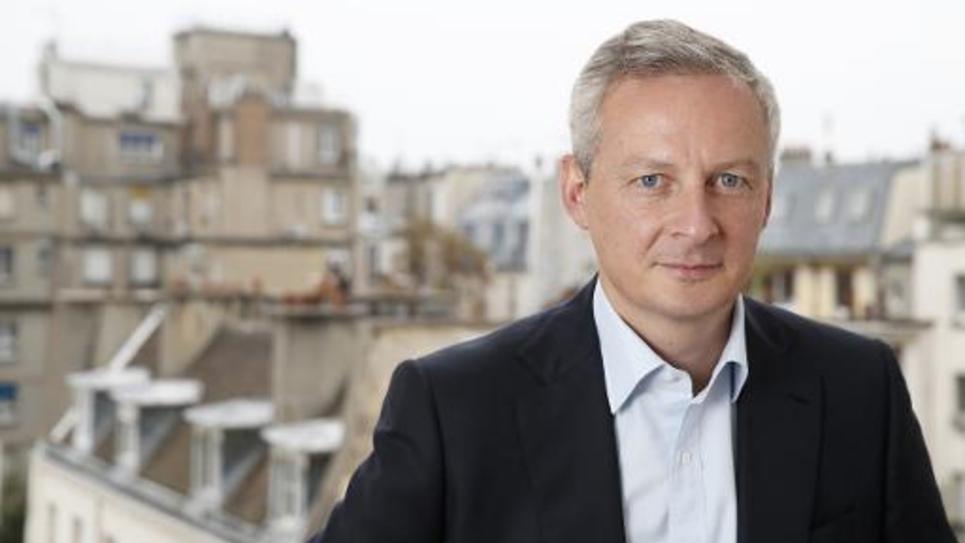 Le député UMP Bruno Le Maire, candidat à la présidence de son parti, le 5 septembre 2014 à Paris