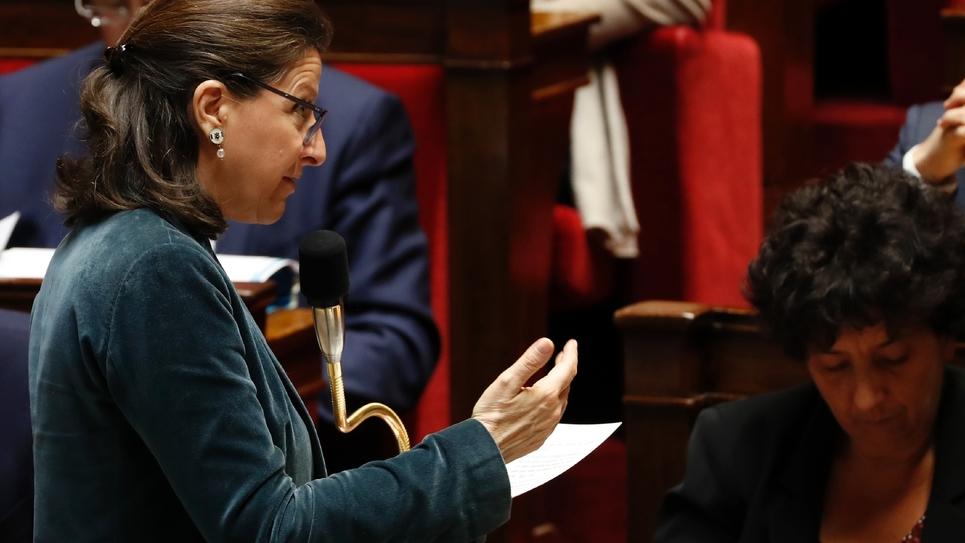 Agnès Buzyn s'exprime devant l'Assemblée nationale, le 19 mars 2019