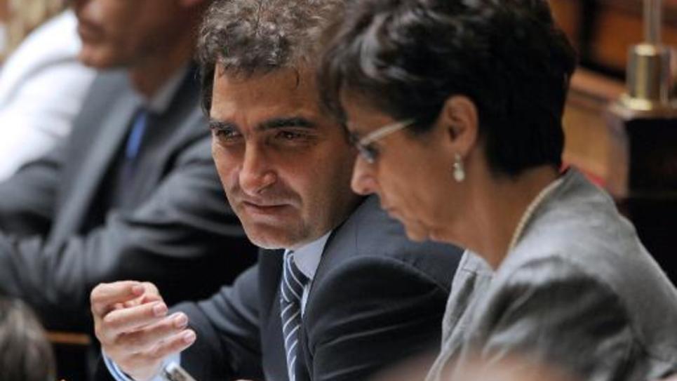 Le chef du groupe des députés UMP Christian Jacob à l'Assemblée nationale le 24 juin 2014
