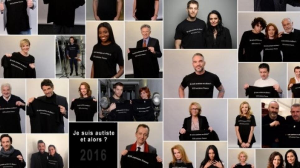Capture d'écran de la campagne lancée par SOS Autisme France
