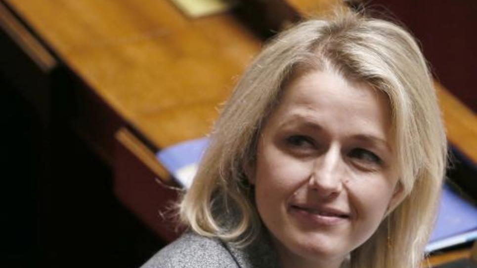 La députée EELV Barbara Pompili à Paris le 11 février 2015