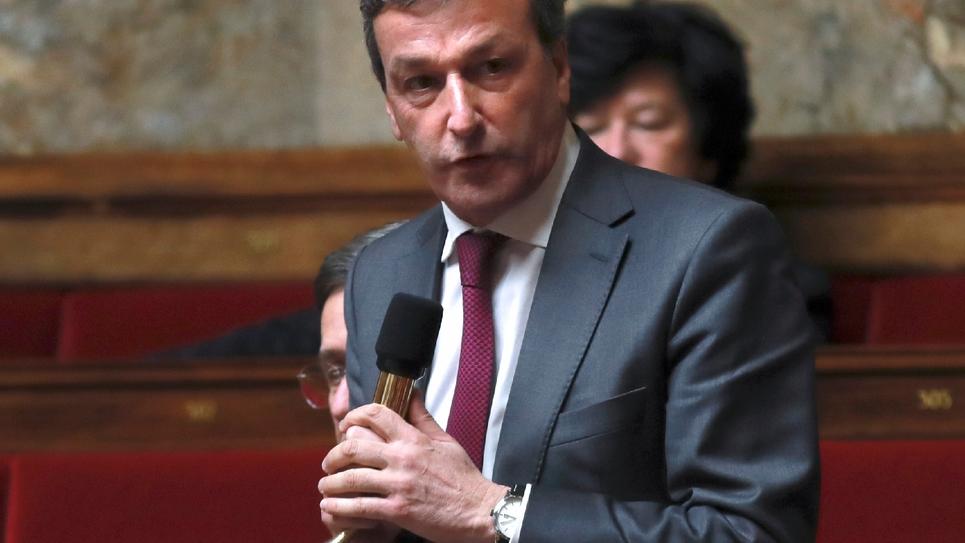 Philippe Vigier à l'Assemblée nationale le 29 novembre 2016