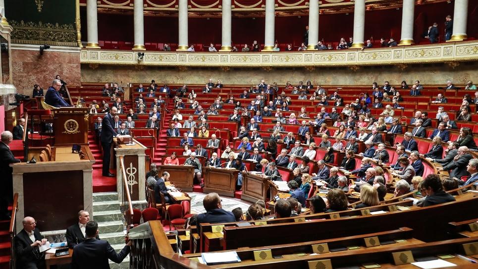 L'assemblée nationale, le 3 mars 2020