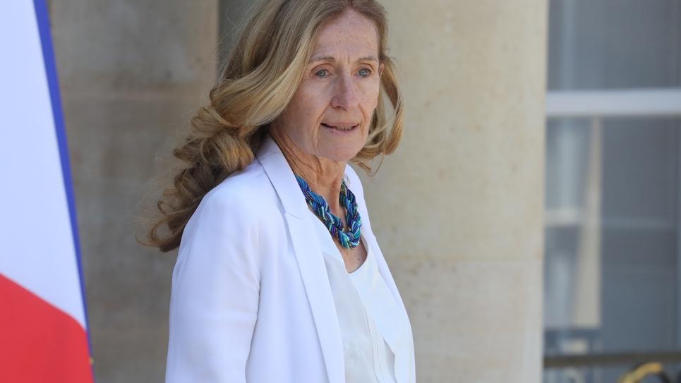 La ministre de la Justice Nicole Belloubet le 3 juillet 2019 à Paris
