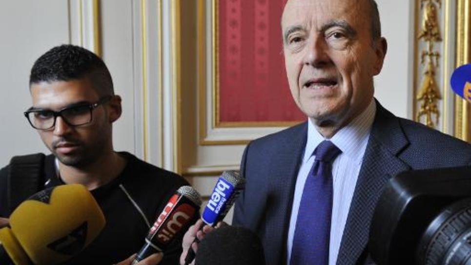 Le maire UMP de Bordeaux Alain Juppé, le 2 mars 2015 à Bordeaux