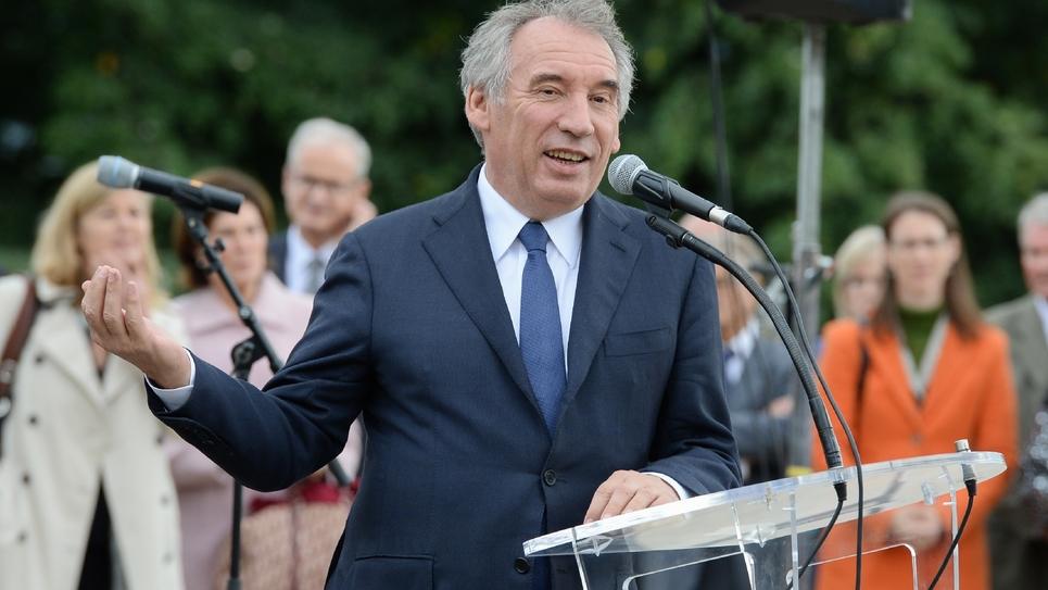 Le maire de Pau et ex-ministre François Bayrou à Pau, le 08 octobre 2018