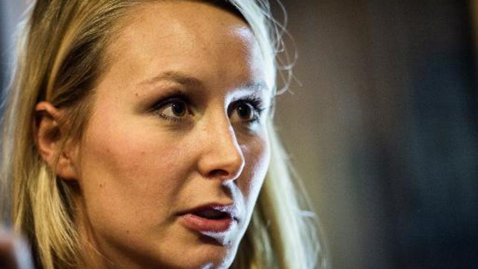 Marion Marechal-Le Pen le 29 novembre 2014 à Lyon