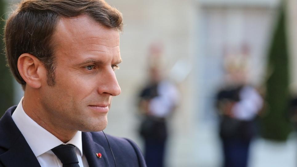 Le président Emmanuel Macron à l'Elysée, le 20 mai 2019 à Paris