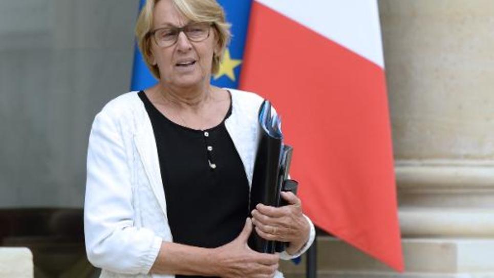 La ministre de la Fonction publique Marylise Lebranchu le 27 août 2014