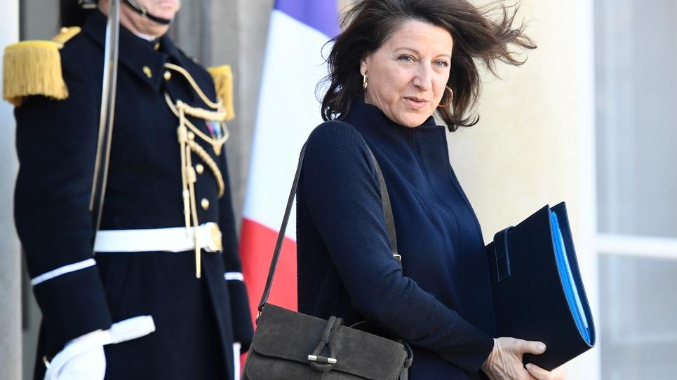 La ministre de la Santé et des Solidarités Agnès Buzyn, le 11 mars 2019 à Paris