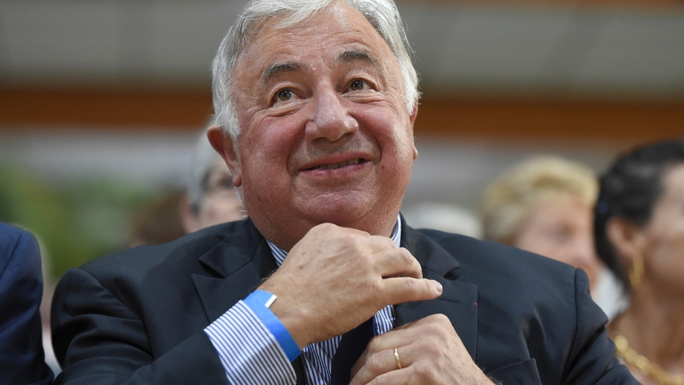 Le président du Sénat Gérard Larcher à La Baule, le 31 août 2019