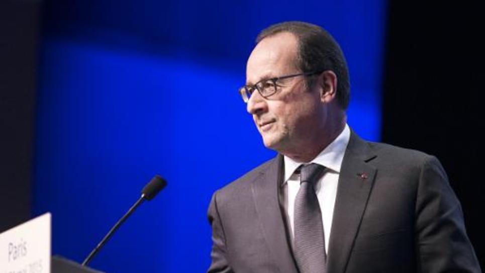 Le président François Hollande le 21 mai 2015 à Paris