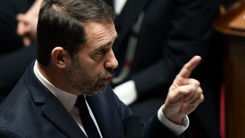Christophe Castaner à l'Assemblée nationale le 29 janvier 2019