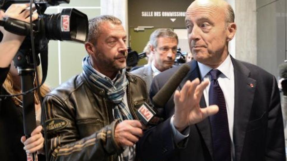 Alain Juppé le 27 mai 2014 à Bordeaux