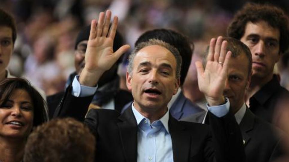 """Le député et maire de Meaux, Jean-François Copé, le 30 mai 2015 lors du congrès fondateur du mouvement """"Les Républicains"""""""