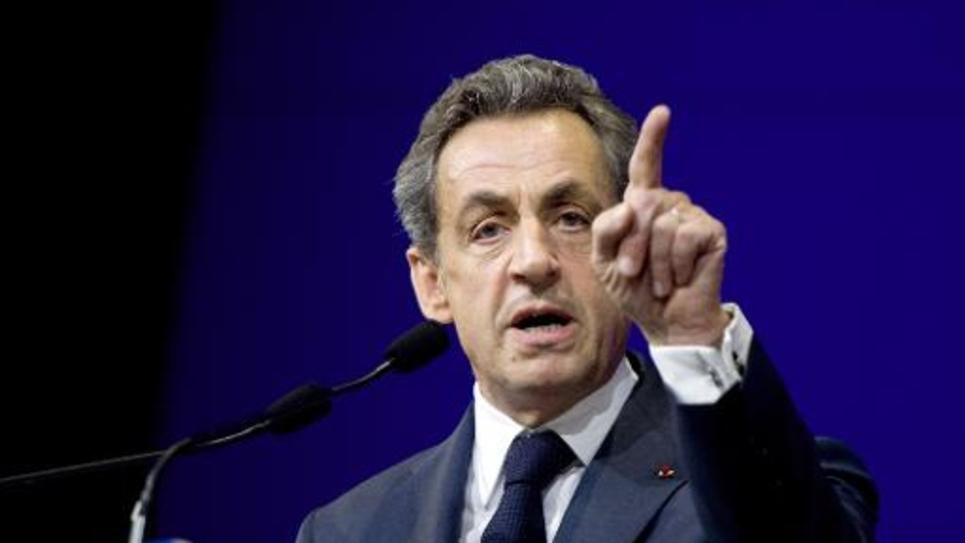 Le président de l'UMP Nicolas Sarkozy, le 7 février 2015 à Paris