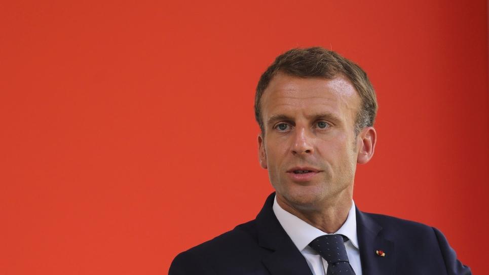 Emmanuel Macron le 19 septembre 2018 à Paris