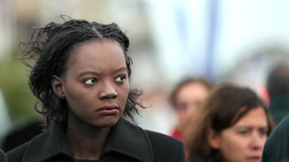 Rama Yade à Saint-Malo le 30 octobre 2010