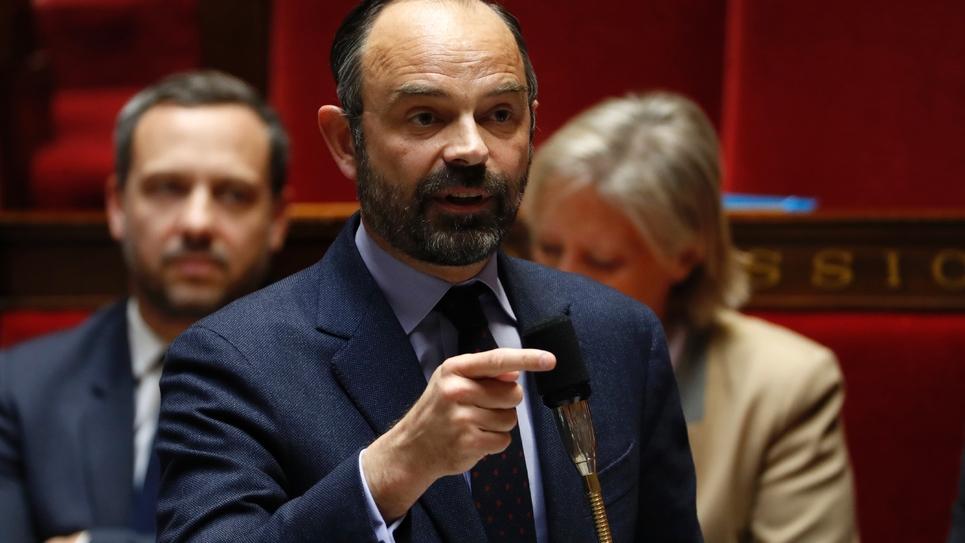 Edouard Philippe à l'Assemblée nationale le 19 mars 2019
