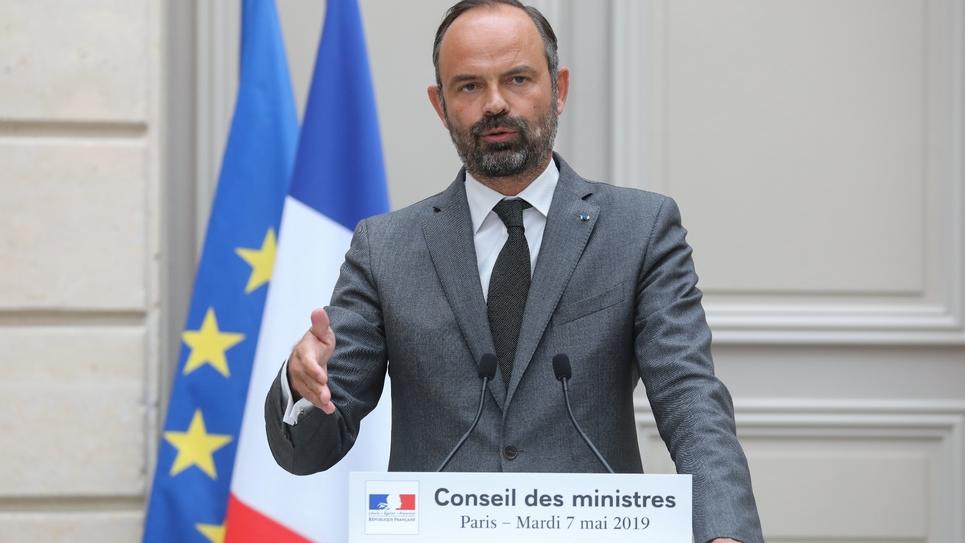 Conférence de presse d'Edouard Philippe le 7 mai 2019 à Paris