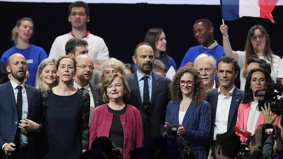 Meeting de La République En Marche pour les élections européennes autour de Nathalie Loiseau à Strasbourg le 11 mai 2019