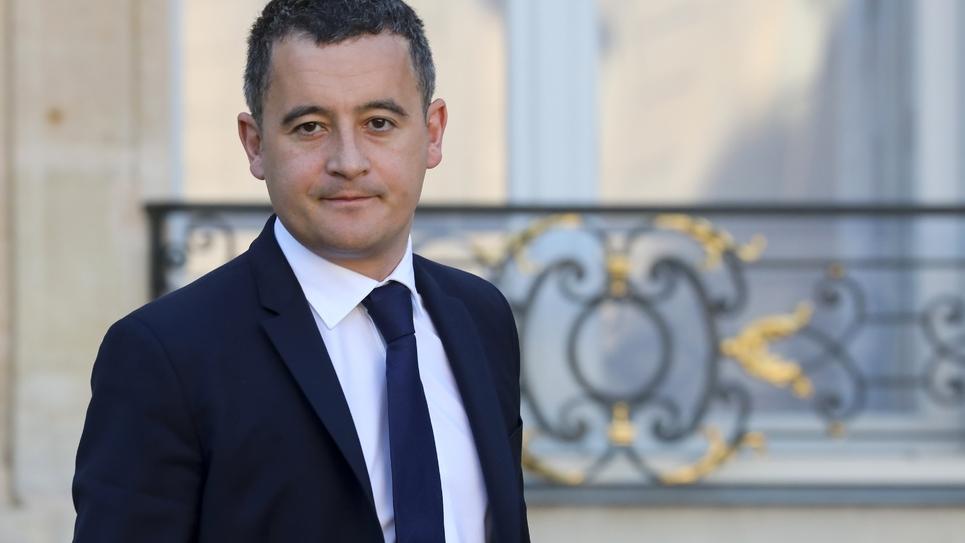 Le ministre de l'Action et des comptes publics Gérald Darmanin à Paris, le 14 novembre 2018