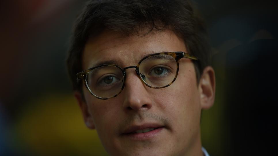 Le député Sacha Houlié le 10 septembre 2018 à Tours