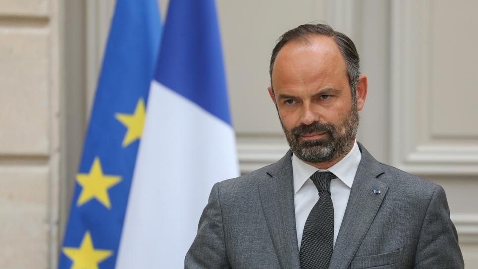Edouard Philippe à l'Elysée, le 7 mai 2019