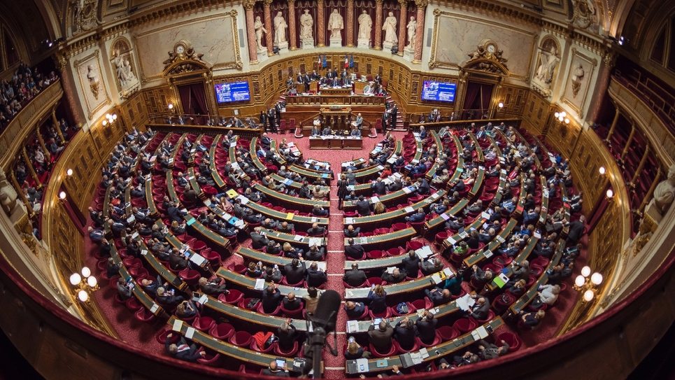 Session du Sénat, le 17 novembre 2016 à Paris