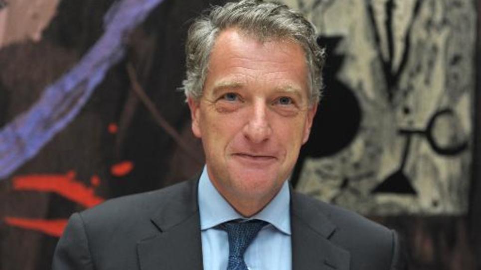 L'UMP Hervé Gaymard, le 15 octobre 2014 à Paris