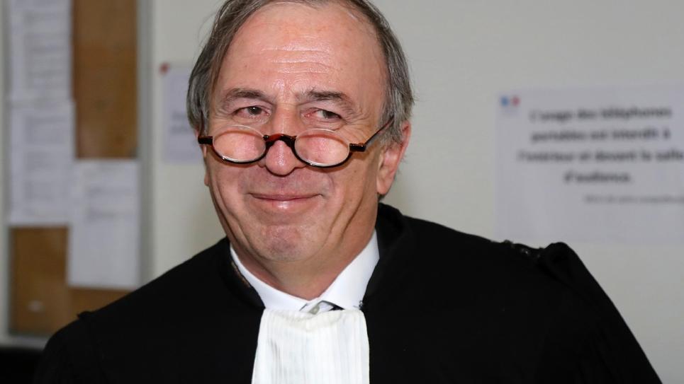 L'avocat de Richard Ferrand Paul-Albert Iweins le 2 mai 2017 à Paris