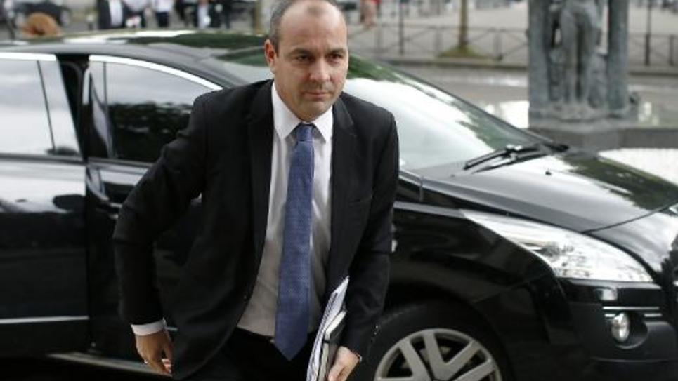 Le secrétaire général de la CFDT Laurent Berger le 7 juillet 2014 à Paris