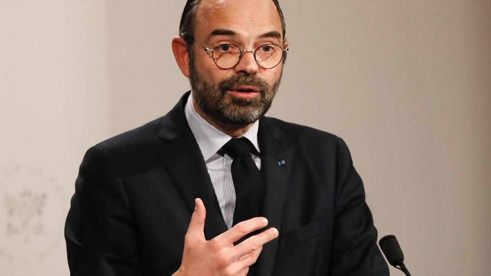 Le Premier ministre Edouard Philippe, à Paris, le 9 janvier 2019
