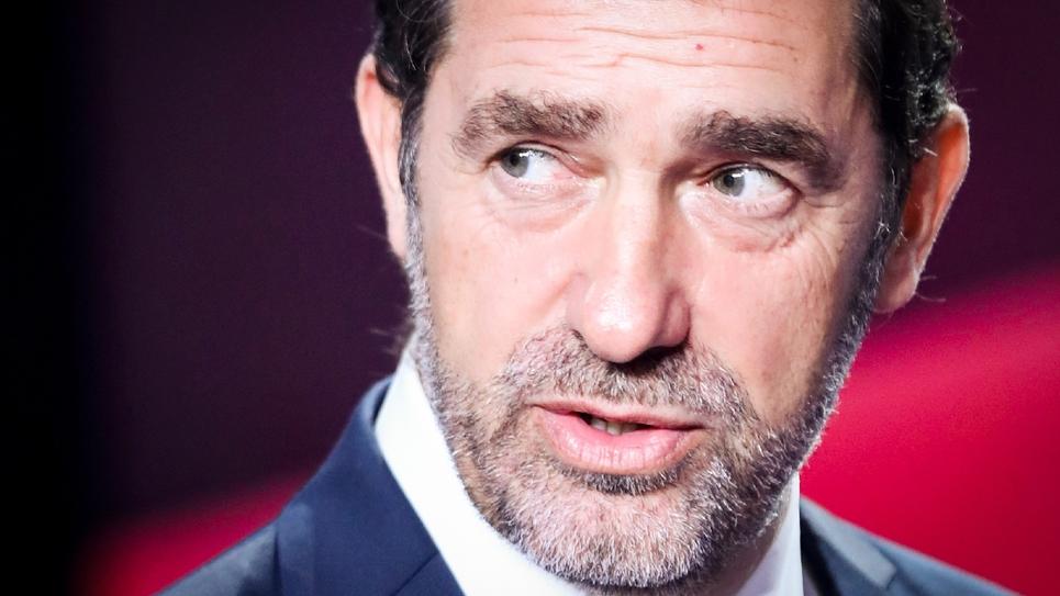 """Christophe Castaner lors de l'émission """"Vous avez la parole"""", sur France 2, à Saint-Cloud (Hauts-de-Seine) le 17 octobre 2019"""